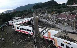 Đài Loan: Tàu hỏa trật khỏi đường ray, hàng trăm người thương vong