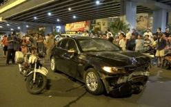 Nữ tài xế BMW gây tai nạn kinh hoàng khai do vướng giày cao gót đạp chân ga