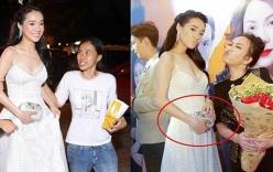 Loạt ảnh chứng minh Nhã Phương đang mang thai