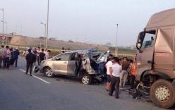 Vụ xe container tông vào xe Innova lùi trên cao tốc: Một bản án thiếu tính thuyết phục
