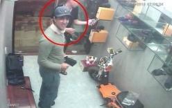 Người đàn ông ngoại quốc ăn mặc bảnh bao trộm nước hoa, đồng hồ