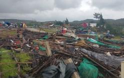 Lốc xoáy kinh hoàng tại gành Đá Đĩa, 27 người bị thương