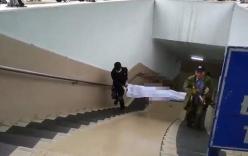 Phát hiện thi thể người đàn ông lạnh cứng trong hầm đi bộ Kim Liên