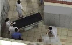 Bệnh nhân trốn người thân, nhảy từ tầng 4 BV Bạch Mai tử vong