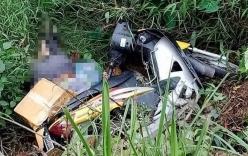 Tá hỏa phát hiện thi thể người đàn ông bên vệ đường dưới xe máy
