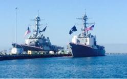 Mỹ cử hai tàu Hải quân qua eo biển Đài Loan bất chấp sự phản đối của Trung Quốc