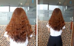 Thiếu nữ gục ngã khi tốn tiền triệu làm tóc xoăn nhẹ Hàn Quốc, kết quả lại ra giống