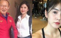 Tiết lộ về nữ phóng viên cực gợi cảm luôn theo sát HLV Park Hang Seo