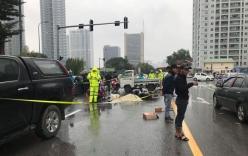 Tin tức tai nạn giao thông mới nhất hôm nay 13/12: Hiện trường vụ tai nạn liên hoàn khiến 12 người bị thương