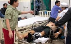TNGT nghiêm trọng: Lật xe khách khiến 8 người bị thương