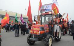 Trực tiếp Việt Nam - Malaysia: Hàng vạn cổ động viên đổ về, sân Mỹ Đình rực cờ đỏ