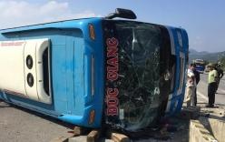 Nguyên nhân ban đầu vụ xe khách bị lật khiến 6 người thương vong