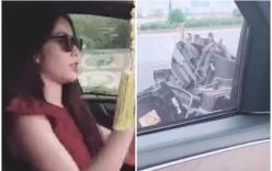 Xe hơi tiền tỷ của Nam Em vỡ nát gương sau tai nạn giao thông khiến dân tình lo lắng