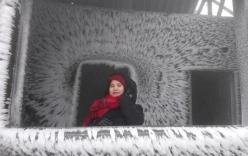 Sự thực thông tin Lạng Sơn cấm ôtô lên khu du lịch Mẫu Sơn ngắm băng tuyết
