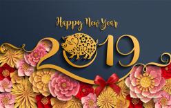 Top hình ảnh Chúc mừng năm mới 2019, Xuân Kỷ Hợi đẹp nhất