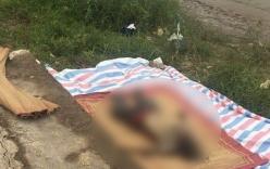 Thi thể người đàn ông đầu trọc, có nhiều hình xăm đang bắt đầu phân hủy trên sông Hồng