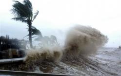 Tin bão mới nhất, tin bão cập nhật: Bão số 1 giật cấp 11, áp sát Cà Mau