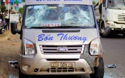 Gia Lai: Xe khách đâm liên tiếp 2 xe máy, 4 người thương vong