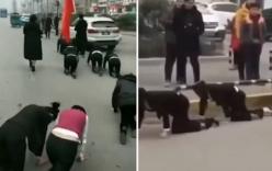 Không đủ KPI, Cty ở Trung Quốc phạt nữ nhân viên bò trên đường gây phẫn nộ