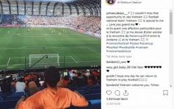 Cổ vũ Việt Nam đấu Jordan, cầu thủ Pháp khiến triệu người xúc động