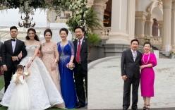 Chân dung vợ chồng đại gia Nam Định trao của hồi môn 200 cây vàng cho con
