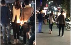 Dân mạng cảm thấy khó hiểu khi xem clip cô gái dắt tay 2 chàng trai đi chơi ngày valentine