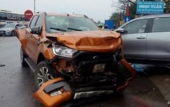 Nguyên nhân vụ 7 xe va chạm khiến 4 người thương vong ở Thanh Hóa