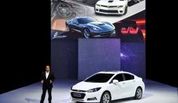 Chevrolet Cruze hoàn toàn mới được giới thiệu tại Bắc Kinh Motor Show 2014