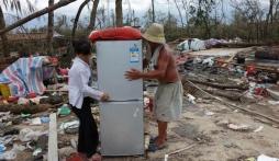 Siêu bão Thần Sấm khiến 56 người Trung Quốc thiệt mạng