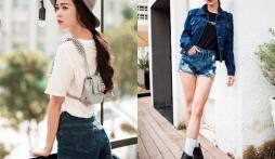 Vũ Ngọc Anh gợi cảm, trẻ trung với thời trang jeans