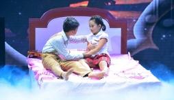 Bước nhảy hoàn vũ nhí 2015: Đoan Trang bật khóc vì tiết mục tình cha con