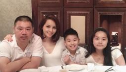 Mai Thu Huyền hạnh phúc tổ chức tiệc sinh nhật cho chồng đại gia