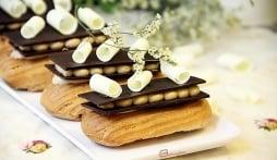 Bánh Éclair ngọt lịm của Pháp, bạn đã thử chưa?
