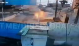 Phiến quân IS nổ tung vì đai bom tự kích nổ trong lúc chạy trốn