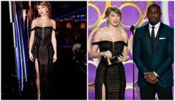 Taylor Swift xuất hiện tại Quả cầu vàng 2019 khoe body nóng bỏng, nhan sắc 'hớp hồn' khán giả