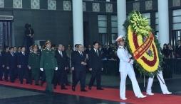 Những hình ảnh lễ viếng Nguyên Chủ tịch nước, Đại tướng Lê Đức Anh