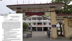 Thông tin mới nhất vụ việc bé sơ sinh tử vong với vết nứt trên cổ ở Hà Tĩnh