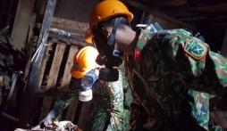 Vụ cháy công ty Rạng Đông: Đã tẩy sạch 2000m2 giai đoạn 1