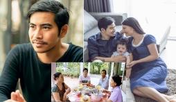 Thanh Bình xuất hiện ở nhà bố mẹ Ngọc Lan sau khi vợ cũ tiết lộ góc khuất hôn nhân