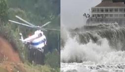 Tin tức thời sự 24h nóng nhất: Bão số 10 Goni tăng tốc vào miền Trung, Máy bay thả lương thực cứu trợ ở Quảng Nam