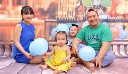 Diễn viên Hiếu Hiền vui mừng được lên chức bố lần 3, tiết lộ sự cố bất ngờ về con út