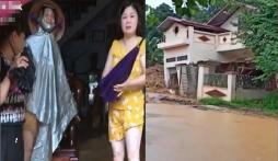 Mưa lũ lịch sử ở Hà Giang: Ngôi nhà 2 tầng đổ sập, người dân bất lực nhìn đồ đạc bị cuốn trôi