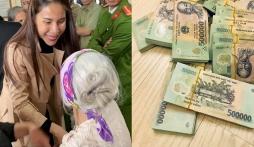 Mặc mạnh thường quân đòi kiện, Thủy Tiên vẫn mang 1 tỷ ra miền Trung từ thiện lần 4