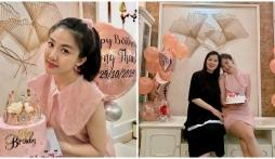 'Tiểu tam' Lương Thanh đón tuổi mới bên gia đình nhưng nhan sắc của mẹ ruột lại khiến bao người ngỡ ngàng