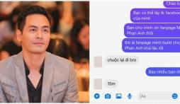 Hành động của Phan Anh khi bị hacker chiếm đoạt fanpage tống tiền