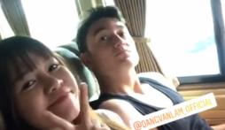 Đặng Văn Lâm 'nóng ruột' ẩn ý với người yêu khi U23 'đua nhau' có tin mừng