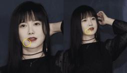 'Nàng Cỏ' Goo Hye Sun bị nghi quên lau miệng sau ăn khi tham gia buổi họp báo?