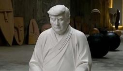 Tượng Trump ngồi thiền giá hơn 14 triệu đồng náo loạn cả Taobao