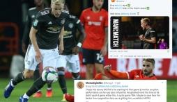 Fan Man Utd bất bình với danh hiệu hay nhất trận với Luton Town