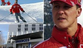 Schumacher đã có những dấu hiệu khả quan nhưng chưa qua cơn nguy kịch